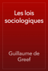 Guillaume de Greef - Les lois sociologiques artwork