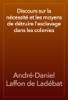 André-Daniel Laffon de Ladébat - Discours sur la nécessité et les moyens de détruire l'esclavage dans les colonies artwork