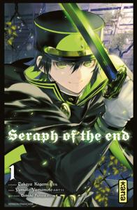 Seraph of the End - Tome 1 La couverture du livre martien