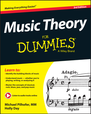 Music Theory For Dummies - Michael Pilhofer & Holly Day book