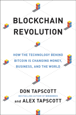 Blockchain Revolution - Don Tapscott & Alex Tapscott book