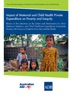 Impact Of Maternal And Child Health Private Expenditure On Poverty And Inequity: Review Of The Literature On The Extent And Mechanisms By Which