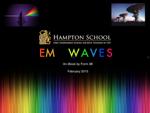 Electromagentic Waves