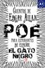 Edgar Allan Poe, J. A. Bravo & Alex Angarita - El Gato negro. Cuentos de Edgar Allan Poe para estudiantes de español. Libro de lectura. Nivel A1 ilustración