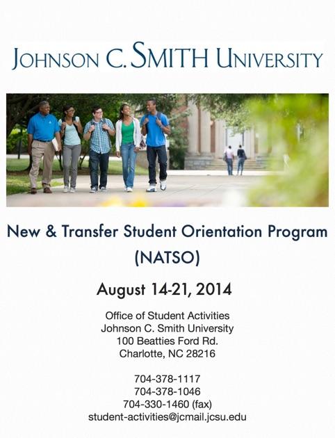 JCSU\u0027s New \u0026 Transfer Student Orientation Program by Aleczander