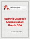 Starting Database Administration Oracle DBA