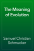 Samuel Christian Schmucker - The Meaning of Evolution artwork