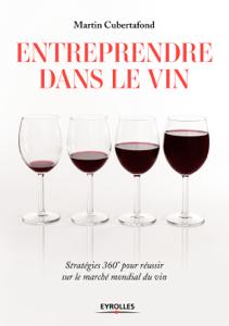 Entreprendre dans le vin La couverture du livre martien