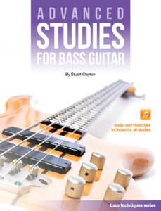 Advanced Studies for Bass Guitar Book Cover