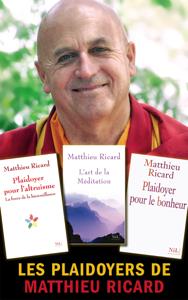 Les Plaidoyers de Matthieu Ricard La couverture du livre martien