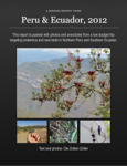 A Birding Report from Peru and Ecuador, 2012
