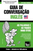 Guia de Conversação Português-Inglês e dicionário conciso 1500 palavras Book Cover