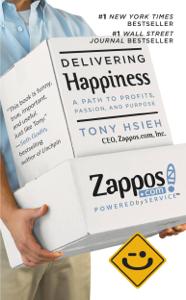 Delivering Happiness La couverture du livre martien