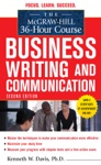The McGraw-Hill 36-Hour Course In Business Writing And Communication Second Edition
