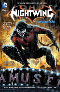 Nightwing Vol. 3: Death of the Family Libro Cover