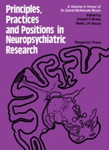 Principles, Practices, and Positions in Neuropsychiatric Research