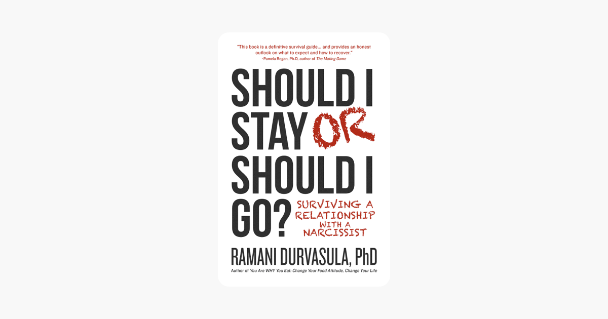 Should I Stay or Should I Go?: Surviving a Relationship with a Narcissist - Ramani Durvasula