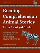 Reading Comprehension Animal Stories For 2nd And 3rd Grade