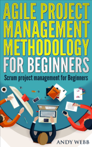 Agile Project Management Methodology for Beginners: Scrum Project Management for Beginners Book Cover