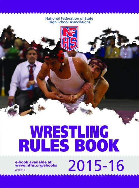nfhs wrestling rule book download