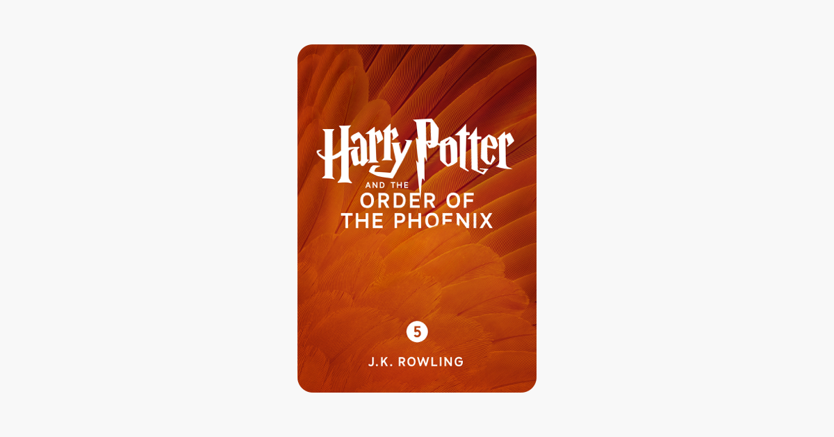 Harry Potter and the Order of the Phoenix (Enhanced Edition) - J.K. Rowling