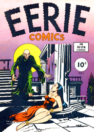 Eerie Comics, Number 1, Eyes of the Tiger book