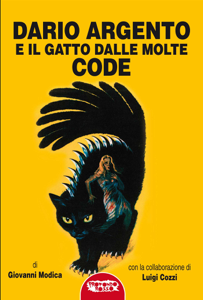 Dario argento e il gatto dalle molte code Copertina del libro