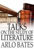 Talks on the Study of Literature