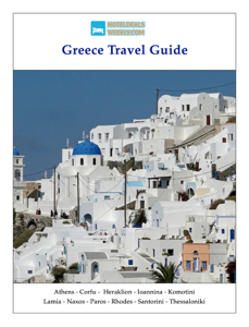 Greece Travel Guide Book Review