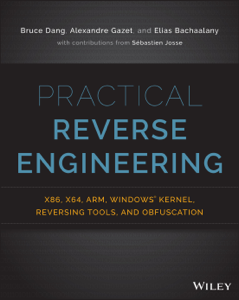 Practical Reverse Engineering La couverture du livre martien