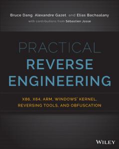 Practical Reverse Engineering La couverture du livre martien