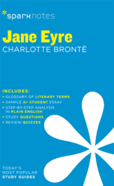Jane Eyre SparkNotes Literature Guide book