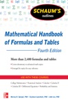Schaums Outline Of Mathematical Handbook Of Formulas And Tables 4th Edition