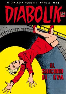 DIABOLIK (194) Copertina del libro