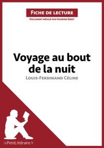 Voyage au bout de la nuit de Louis-Ferdinand Céline (Fiche de lecture) La couverture du livre martien