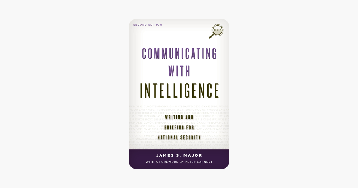 Communicating with Intelligence - James S. Major