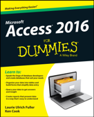 Access 2016 For Dummies