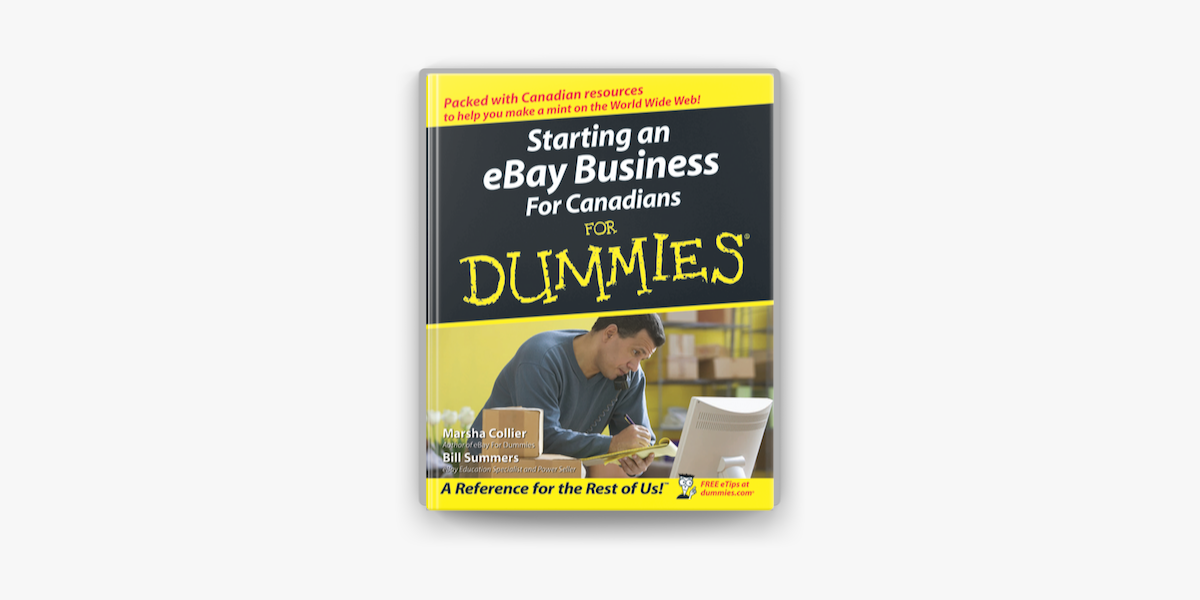Starting An Ebay Business For Canadians For Dummies On Apple Books
