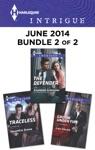 Harlequin Intrigue June 2014 - Bundle 2 Of 2