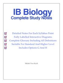 IB BIOLOGY STUDY GUIDE