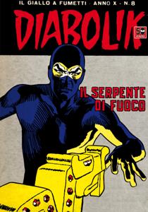 DIABOLIK (188) Copertina del libro