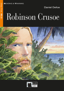 Robinson Crusoe Copertina del libro