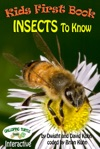 Kids First Book -  Insects To Know