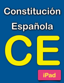 Constitución española para iPad