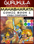 Mahabharata Comic Book 1 - Vyasa Composes