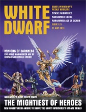 White Dwarf Issue 121: 21st May 2016 (Tablet Edition)