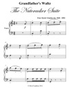 Grandfathers Waltz The Nutcracker Suite Easy Piano Sheet Music Pdf