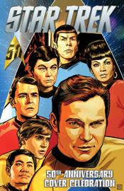 Star Trek: 50th Anniversary Cover Celebration book