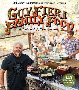 Guy Fieri Family Food by Guy Fieri & Marah Stets Book Cover