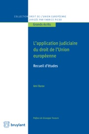 L Application Judiciaire Du Droit De L Union Europ Enne